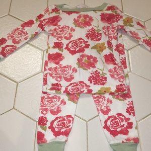 Burt's Bees 12 month pajamas set